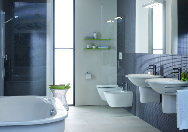 Wall-mounted WC, around £332, Darling New range, Duravit