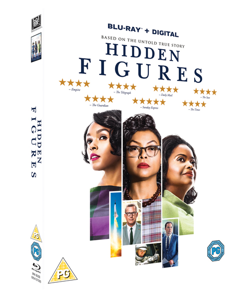 Hidden Figures Blu-ray Competition