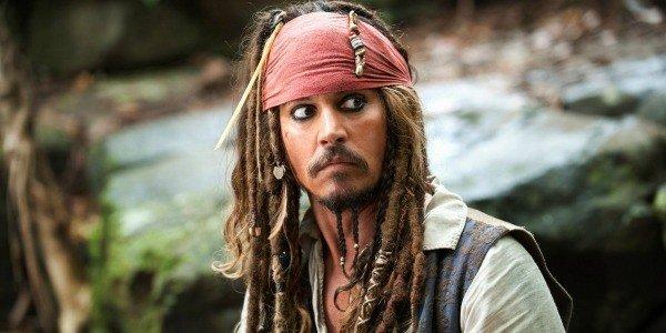 Depp as Jack Sparrow