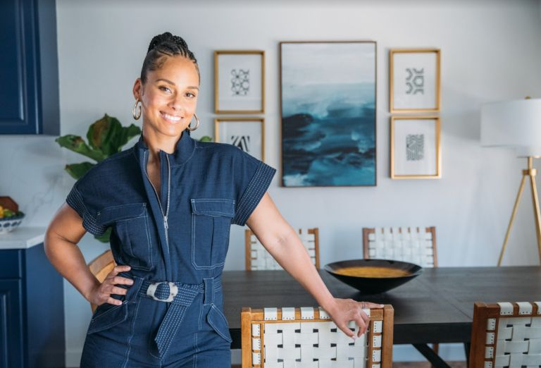 Alicia Keys poses for feature with Amazon Live
