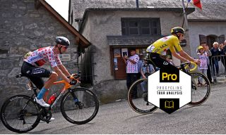 Procycling analysis of the Tour de France stage 17