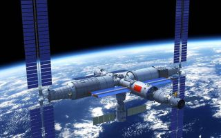 China's Tiangong space station has a modular design similar to the International Space Station.