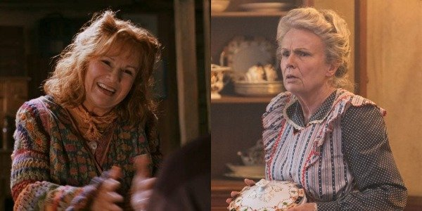 Julie Waters as Molly Weasley in Harry Potter movies