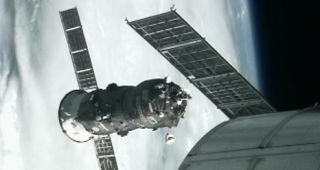 Russian Progress 47 Cargo Spacecraft Docks to Space Station
