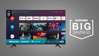cheap 4K TV deal sale