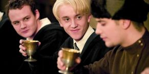 Harry Potter's Tom Felton Can't Stop, Won't Stop Adorably Pointing Out That His Grandfather Is In The First Movie