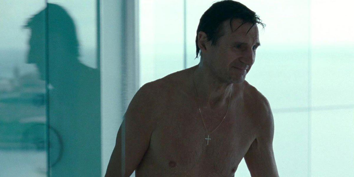 Why We Never Actually See Liam Neeson's Butt On The Big Screen These Days