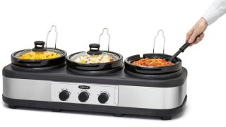 Save 50% on the Bella Triple Slow Cooker, now only $30 at Best Buy