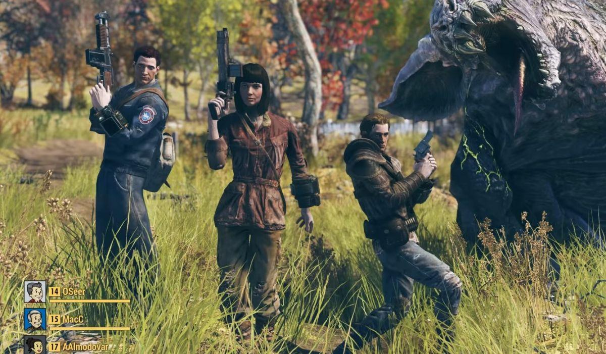 Fallout 76's Hunter/Hunted mode works a lot like battle royale