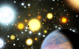 First Transiting Planets in Star Cluster Discovered Space Wallpaper