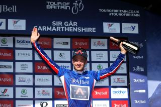 Ethan Hayter (Ineos) leads the Tour of Britain after stage 3