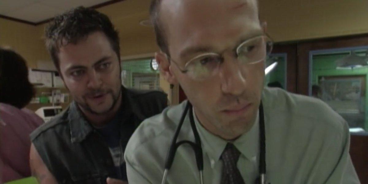 Nick Offerman and Anthony Edwards on ER