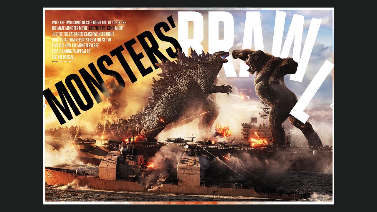 Total de películas Godzilla vs. Kong Feature.