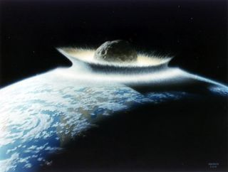 Asteroid Earth Impact