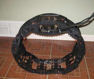 Transforming Robot Wheel
