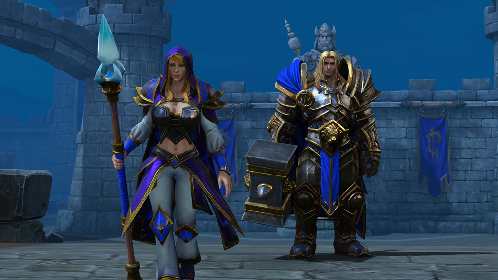 Warcraft 3: Reforged includes The Frozen Throne, multiplayer