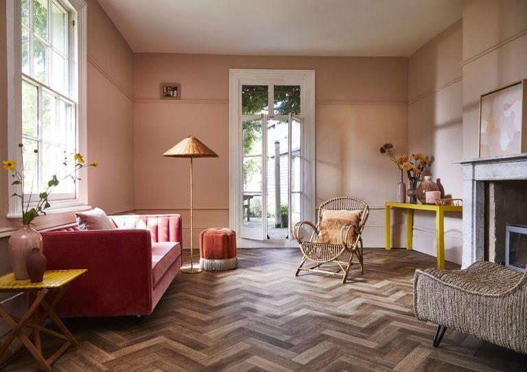 Living room – negative space in interior design