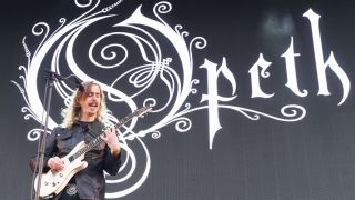 Mikael Akerfeldt of Opeth performs at Tons Of Rock music festival at Fredriksten Festning on June 21, 2018 in Halden, Norway