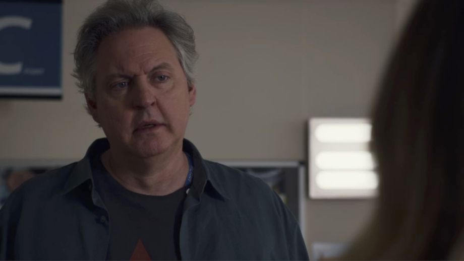 Holby City Sacha propses to JodieCopyright: BBC