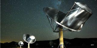 SETI satellites