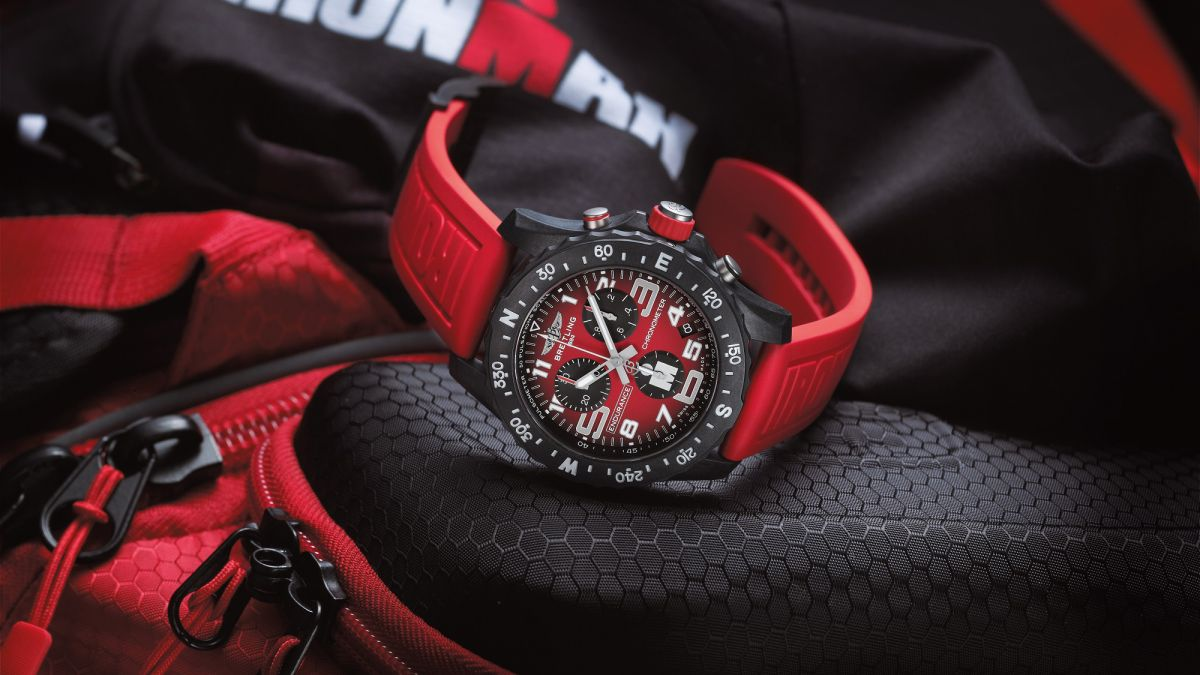 This Breitling x Ironman watch is tougher than you are