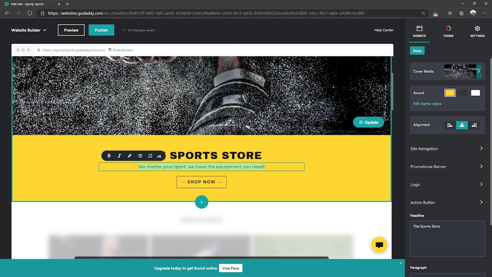 créer un site web