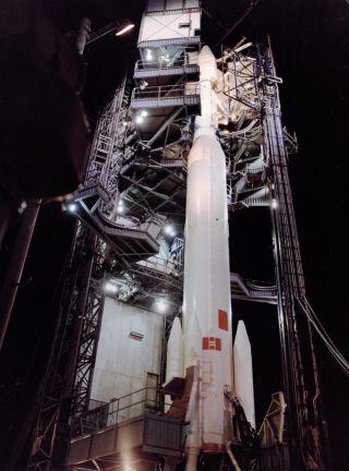 space history photos, rockets, ITOS