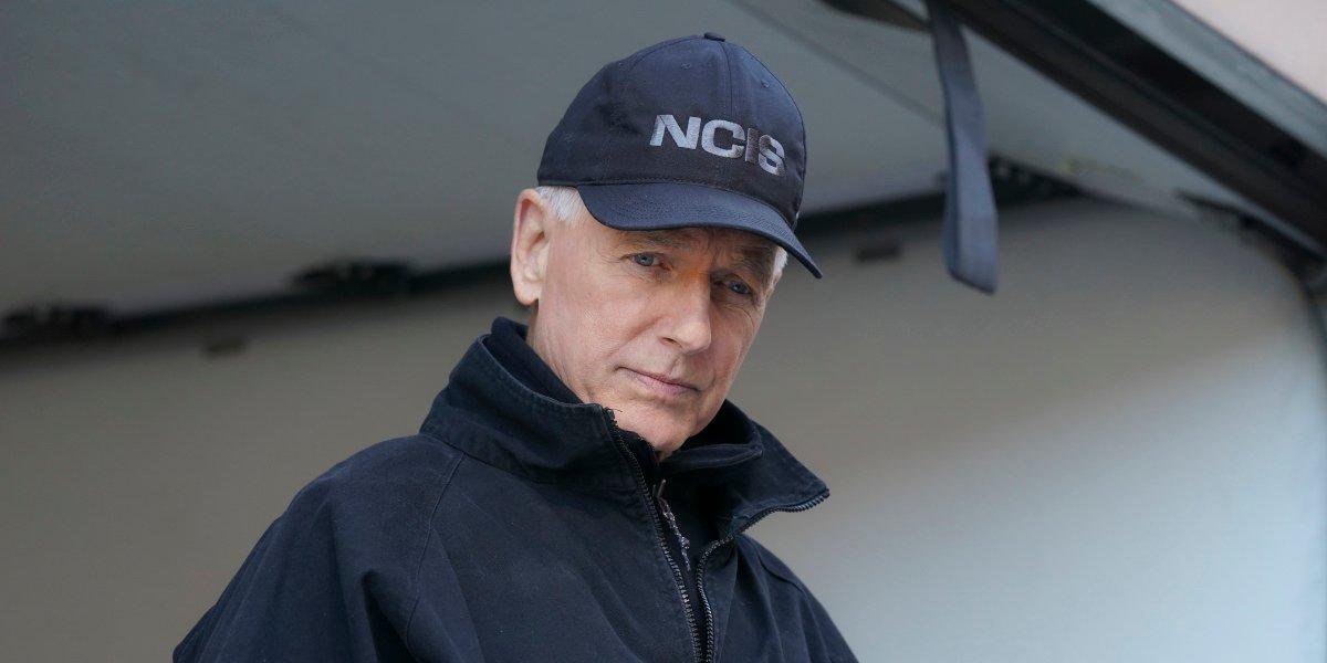 mark harmon's gibbs in hat and jacket on ncis season 18