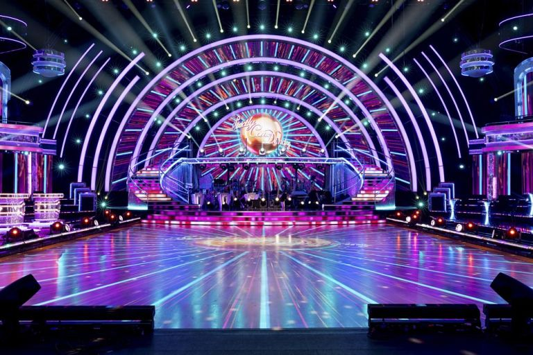 A view of how to watch Strictly Come Dancing from the 2020 set.