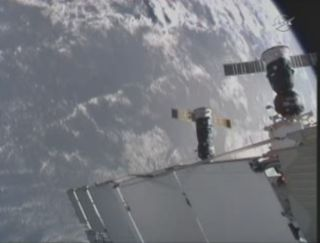 Russian Cargo Ship Veers Out of Control Near Space Station