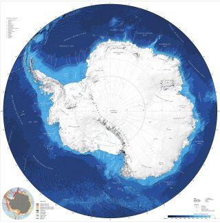 Southern Ocean seafloor map
