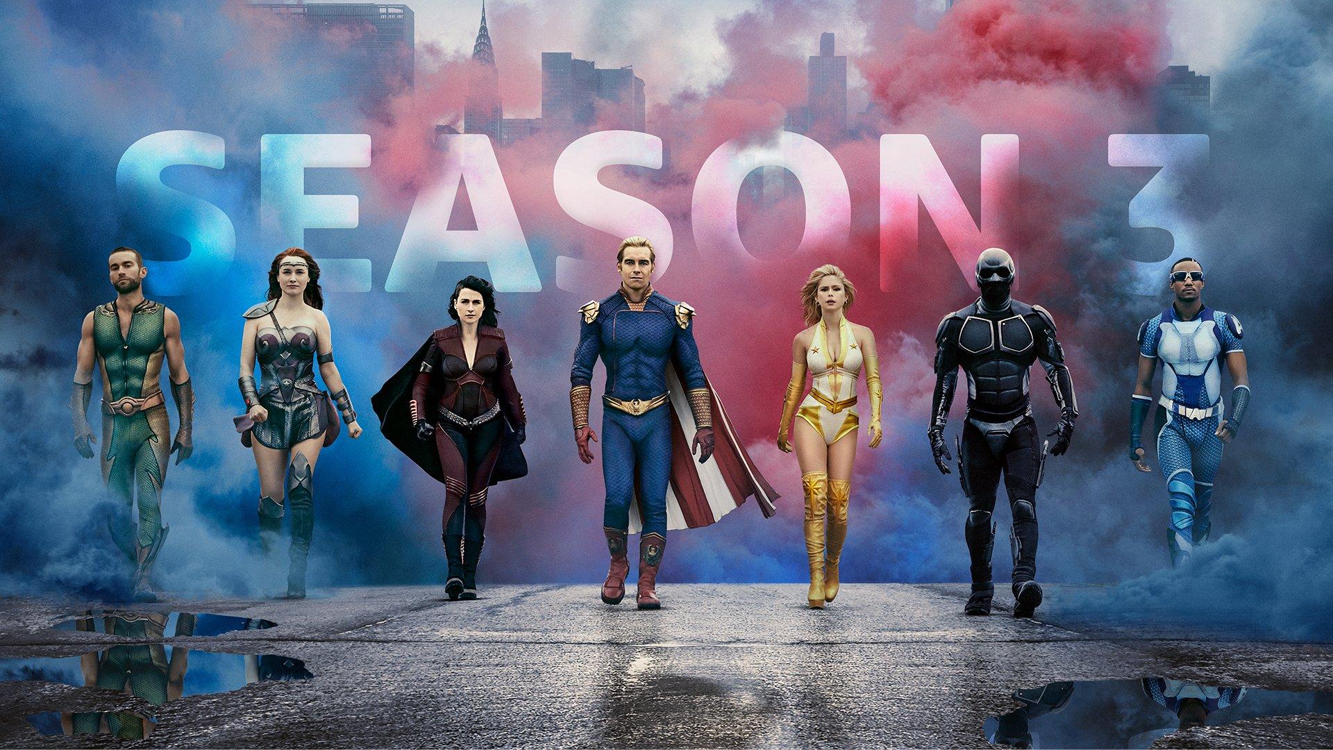 The Boys season 3 on Amazon Prime Video has already cast a new superhero |  TechRadar