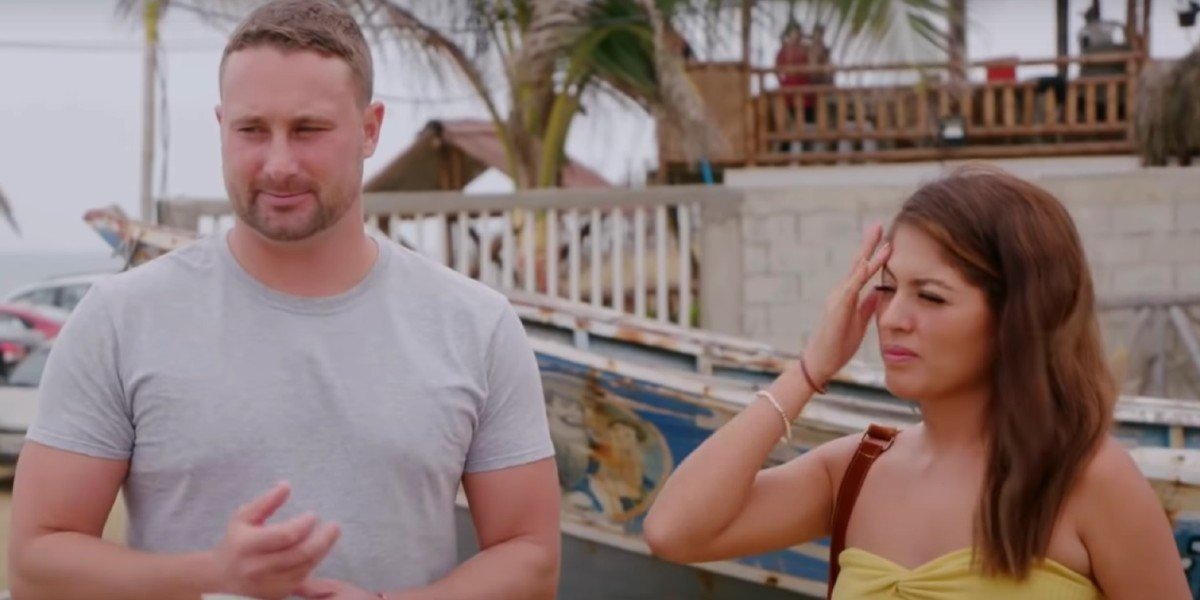 Corey and Evelin in 90 Day Fiancé: The Other Way TLC