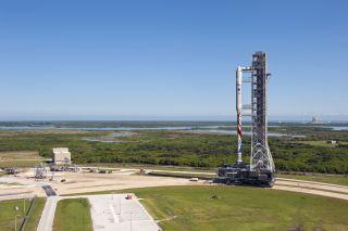 Liberty rocket would revive part of NASA's scrapped Ares I rocket designe.