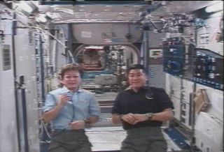 Space Station Crew Ready for Extra Spacewalk