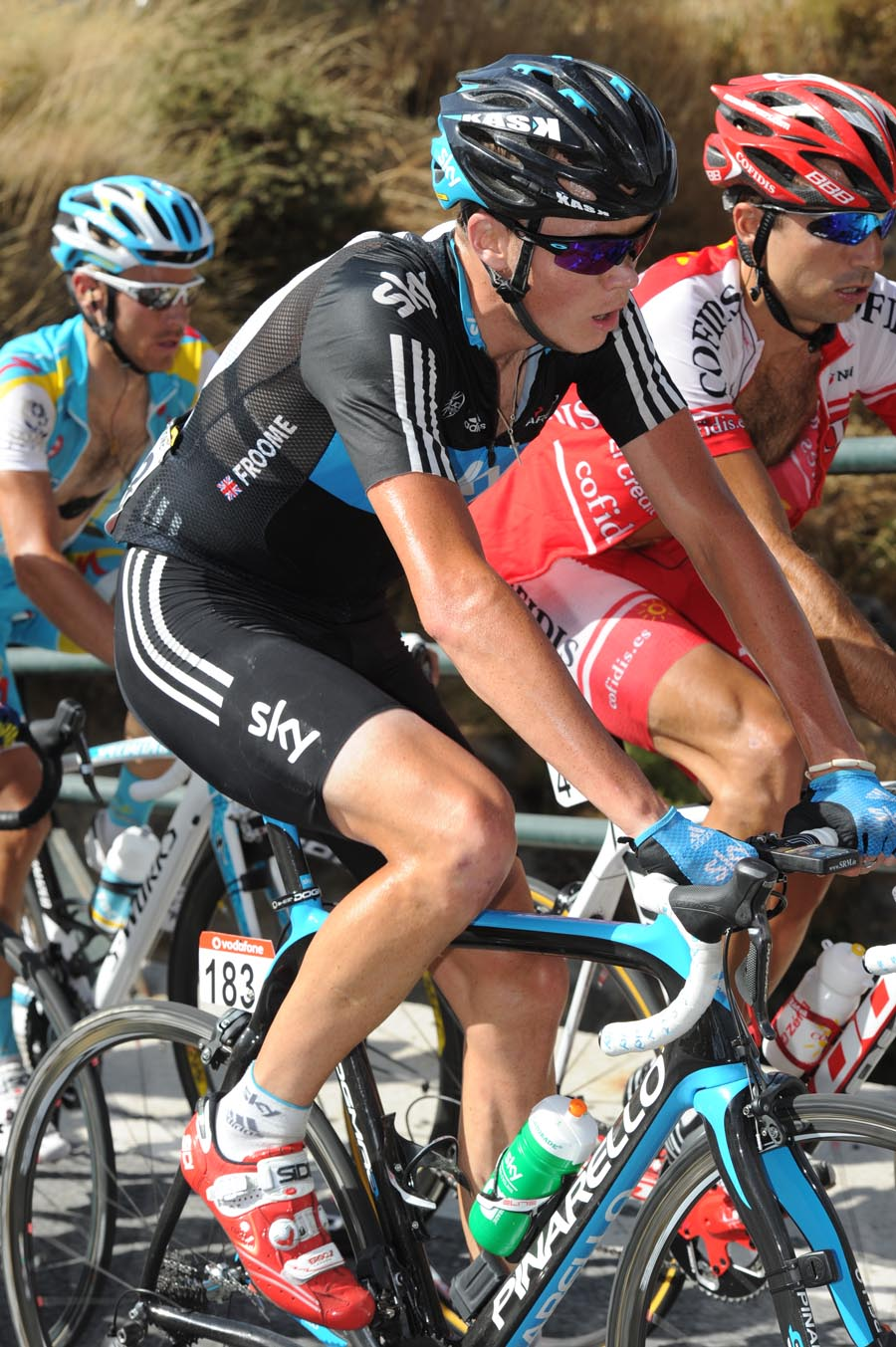 Chris Froome, Vuelta a Espana 2011, stage four