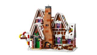 Lego Gingerbread House