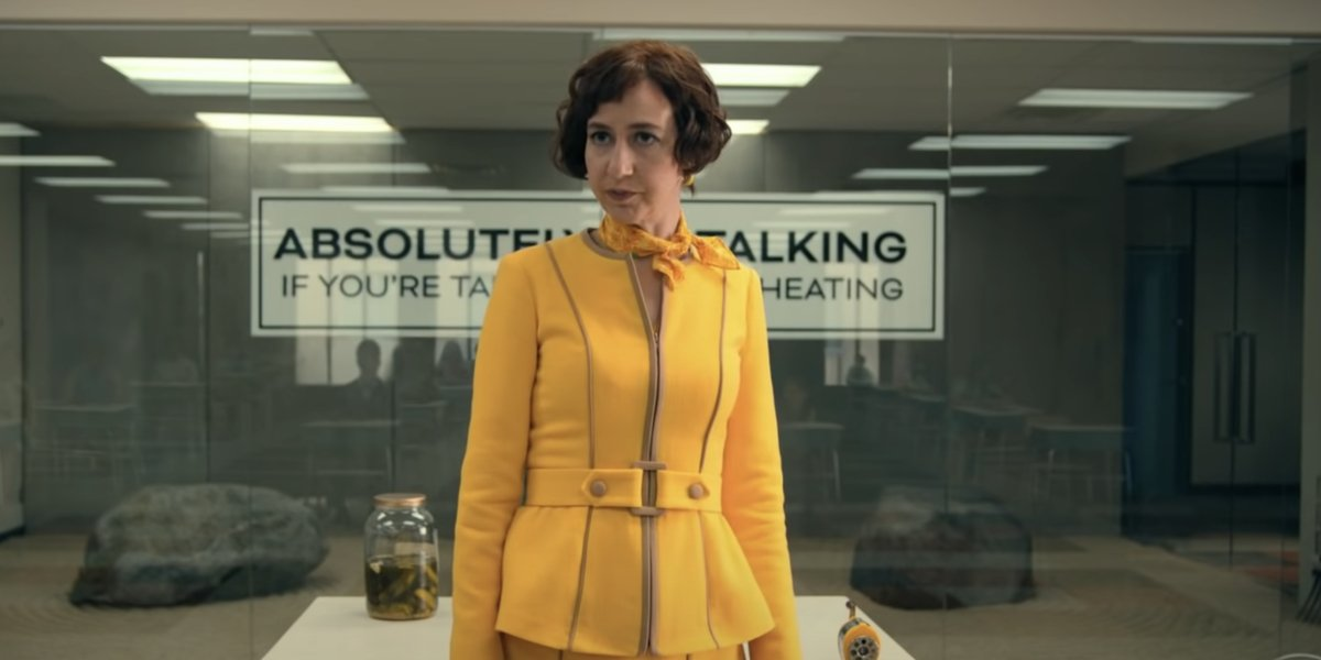 Kristen Schaal as Number Two on The Mysterious Benedict Society