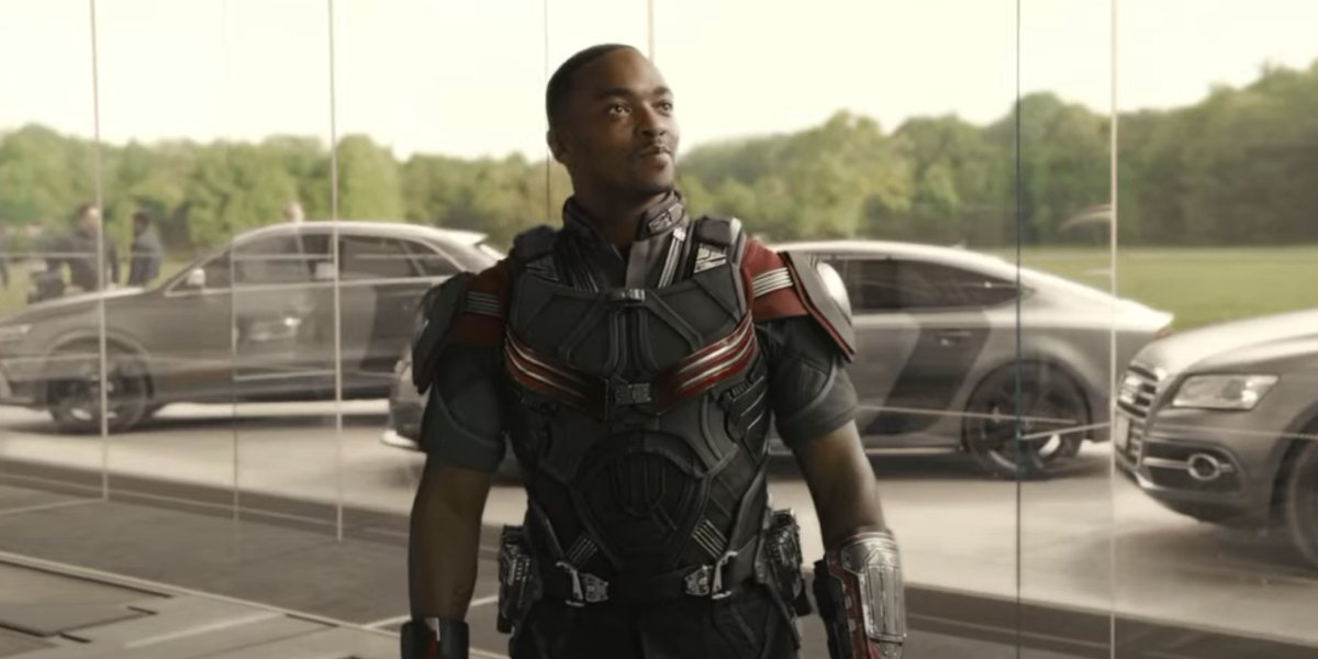 Anthony Mackie in Avengers: Age of Ultron