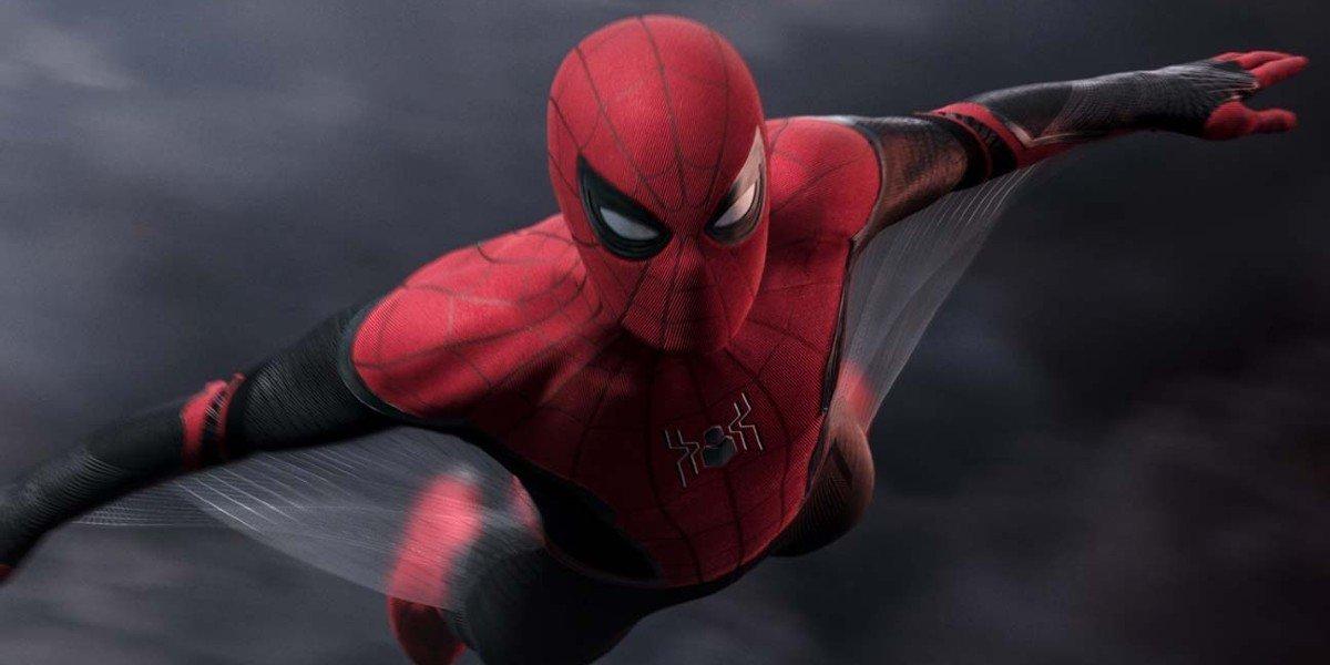 Фан-арт Человека-паука 3 дает герою Тома Холланда костюм симбиота