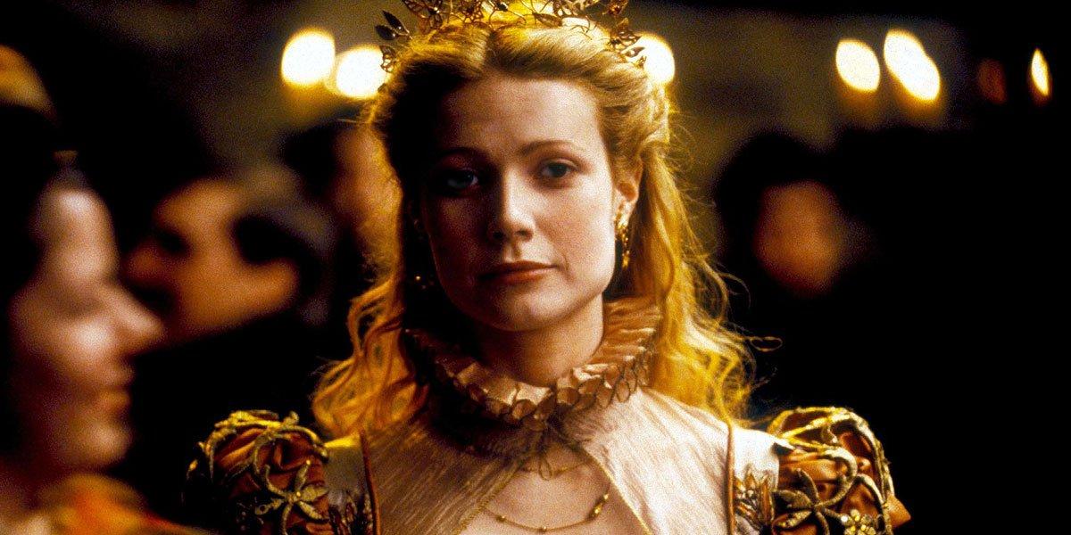 Gwyneth Paltrow in Shakespeare in Love early in her career.