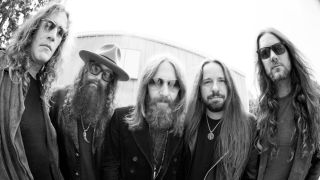 A press shot of Blackberry Smoke in 2016