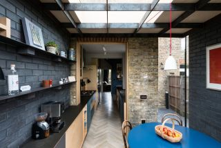 a small kitchen extension idea to extend a gallery kitchen