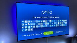 Philo app on Apple TV