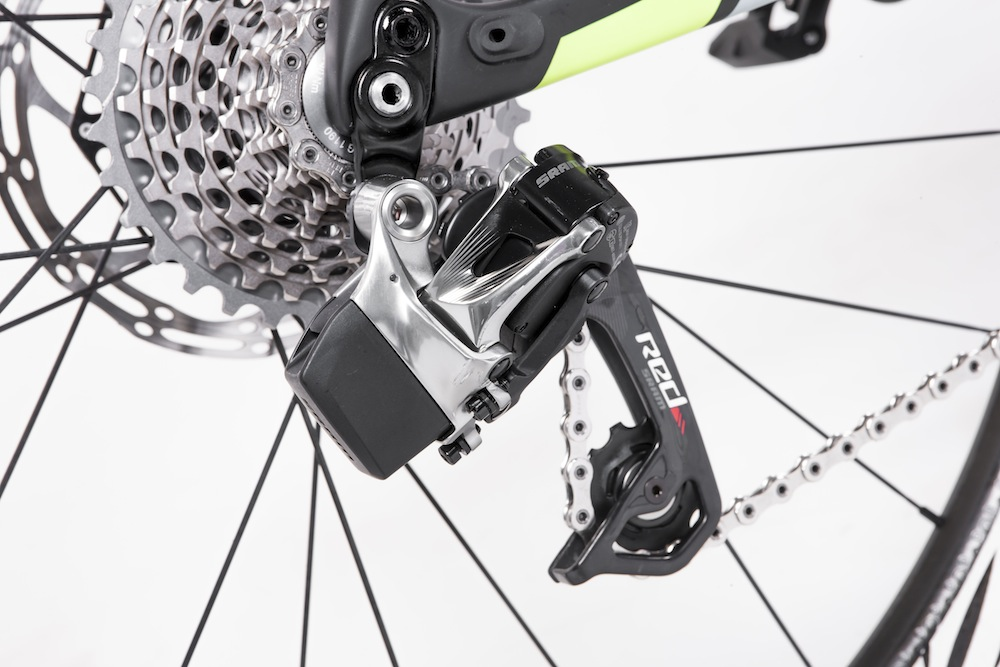 Our Whyte Wessex SE was fitted with SRAM eTap HRD