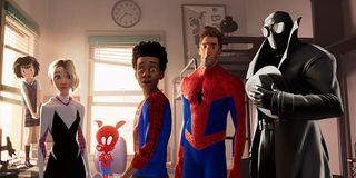 Spider-Man: Into the Spider-Verse's Spider-Men, and women