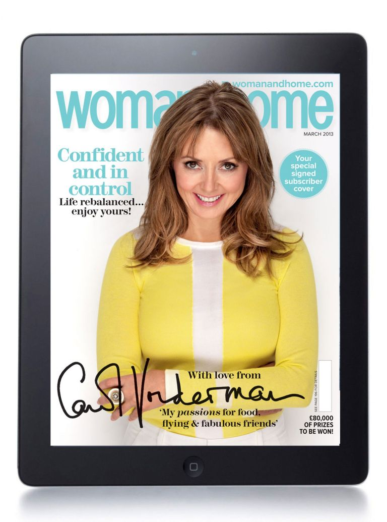 woman&home ipad edition