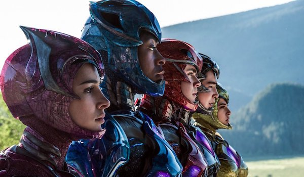 new Power Rangers in uniform
