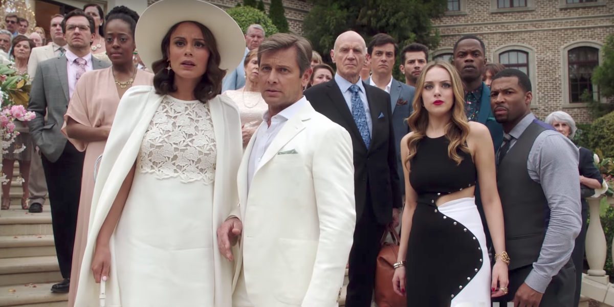 Some of the main cast of Dynasty.