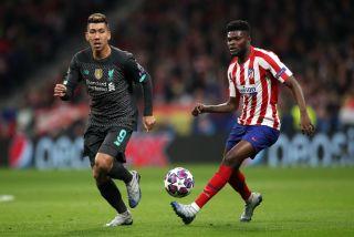 Atletico Madrid v Liverpool – UEFA Champions League – Round of 16 – First Leg – Wanda Metropolitano